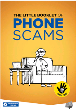 image of Little book of phone scams - metropolitan police service