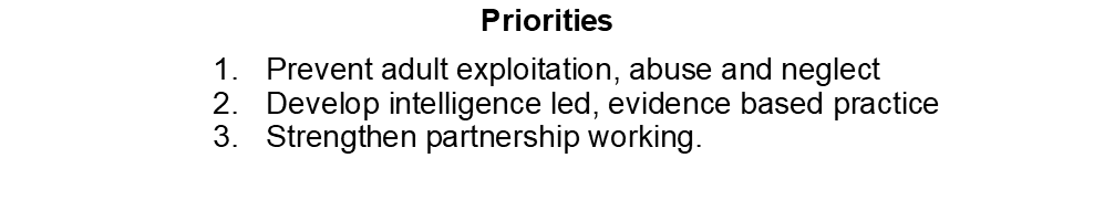 Image of LSAB priorities