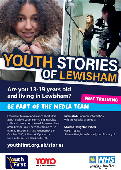 Youth Stories - Media Team Poster