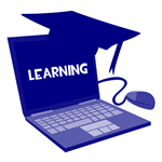 e-learning icon image
